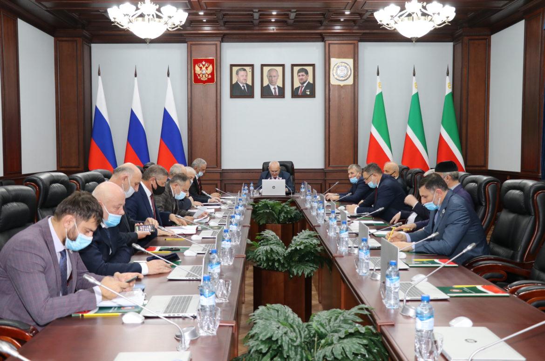 Состоялось 95-е заседание Совета Парламента ЧР