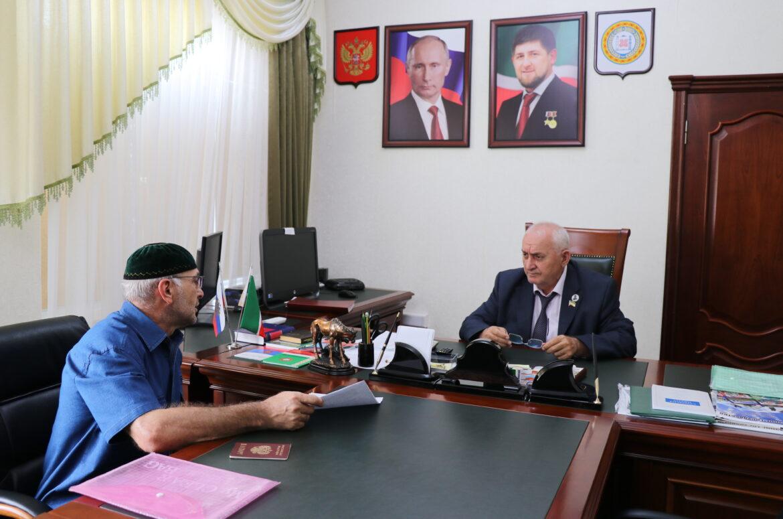 Шаид Жамалдаев провёл приём граждан