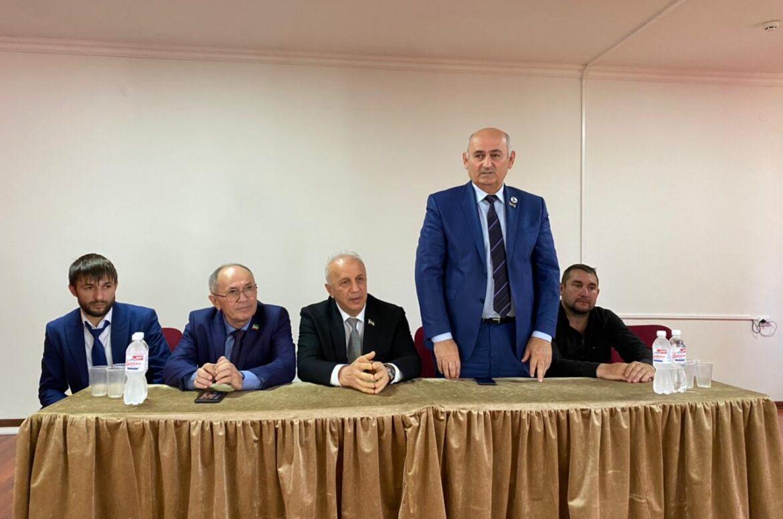 Депутаты провели встречу с жителями с. Побединское