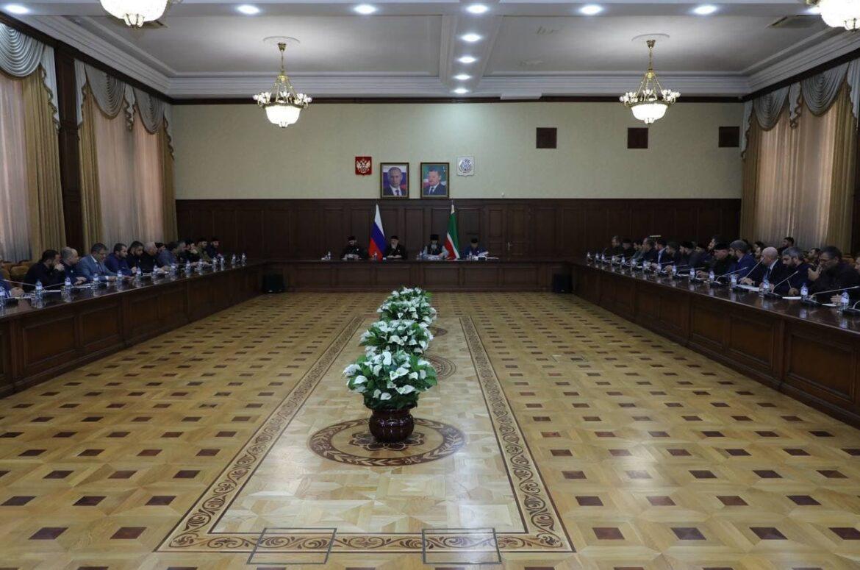 В Грозном обсудили подготовку празднования 70-летия Первого Президента ЧР, Героя России Ахмата-Хаджи Кадырова