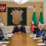 Магомед Даудов принял участие в заседании Оперативного штаба по борьбе с коронавирусом