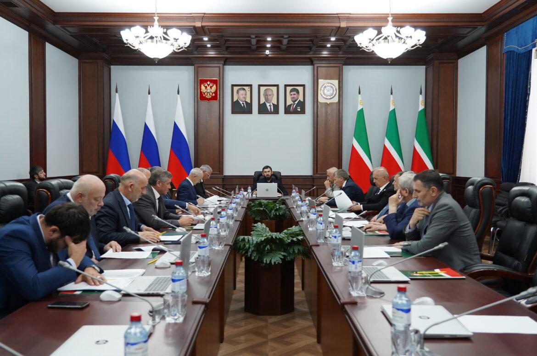 М. Даудов провел 110-е заседание Совета Парламента ЧР