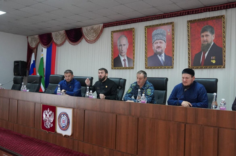 М. Даудов провел совещание в мэрии городского округа город Аргун