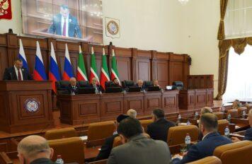Магомед Даудов провел четвертое пленарное заседание