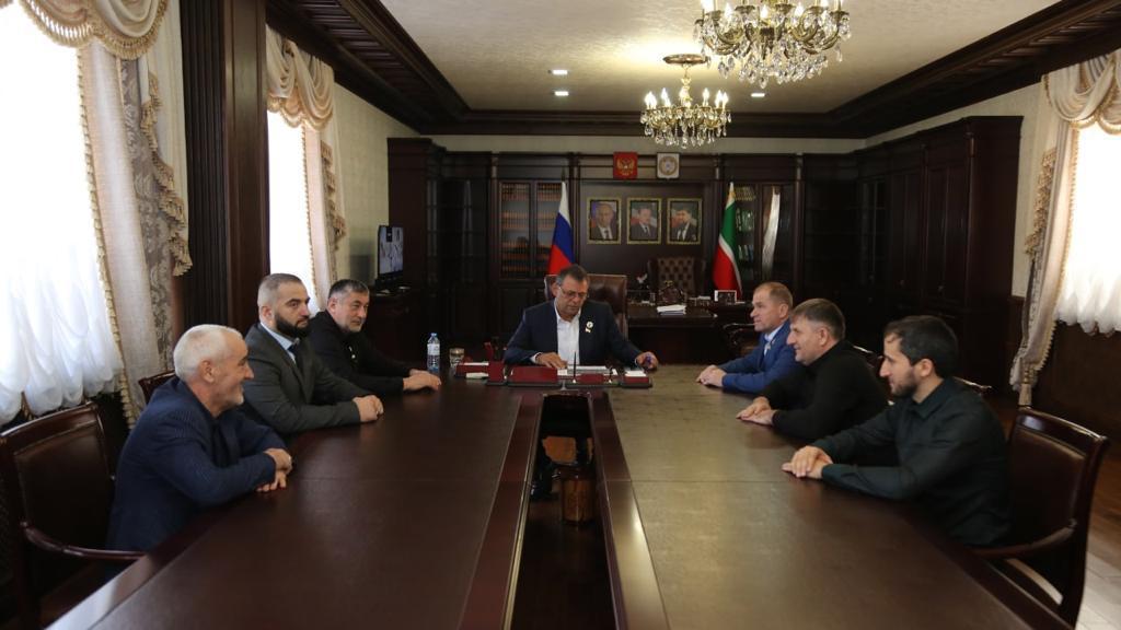 Встреча в администрации Гудермесского района
