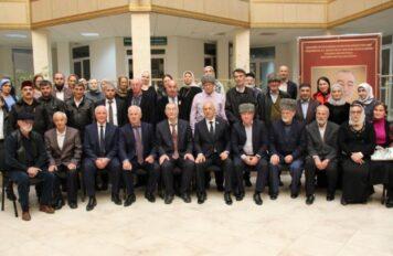 Вице-спикер Парламента ЧР Бекхан Хазбулатов стал почетным гостем на юбилейном вечере А.Д. Вагапова